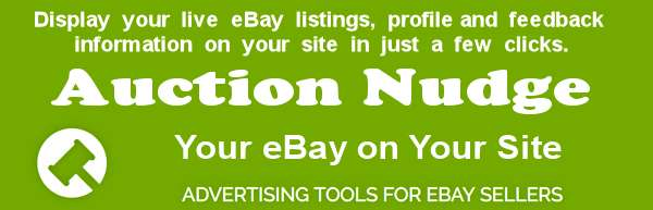 Auction Nudge-Integrate eBay with your WordPress site.